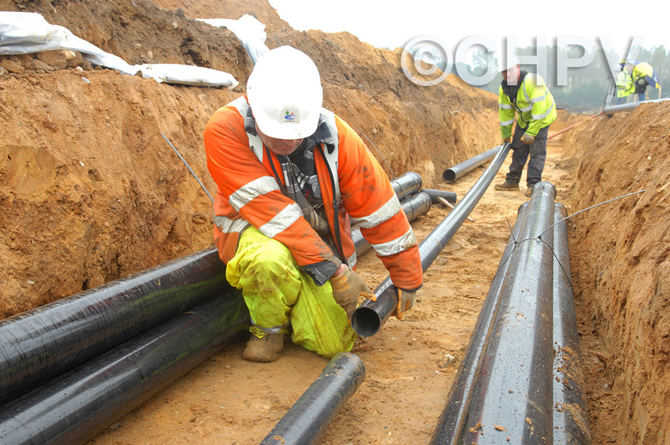 onshore power cable preparations