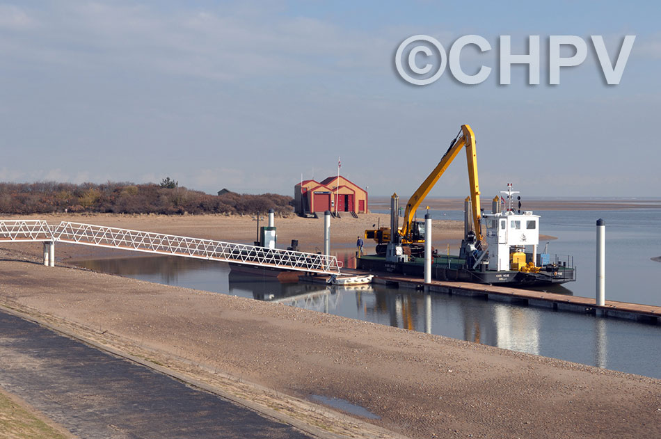 wells outer harbour nearing completion