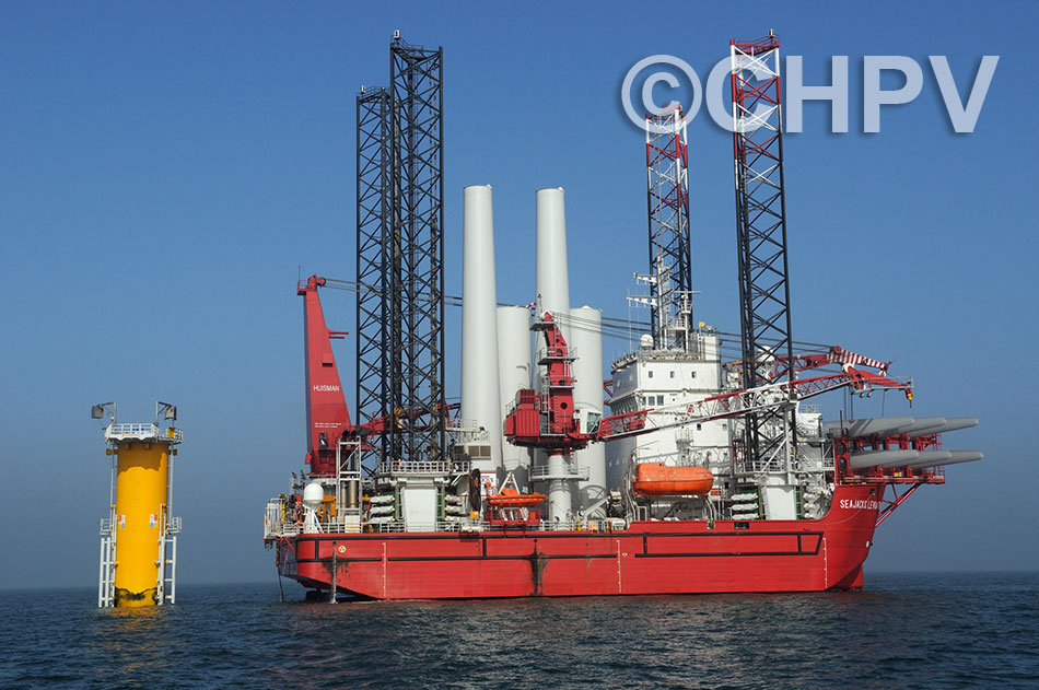 seajacks leviathan joins the project in march 2012