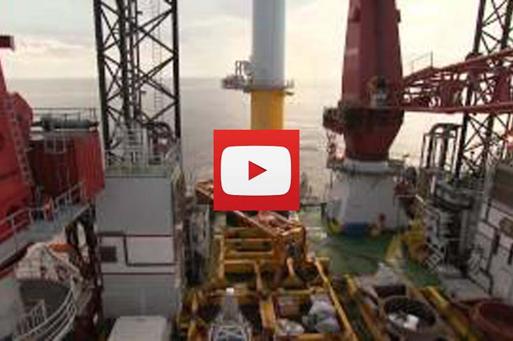 video news 9 the last turbine is installed