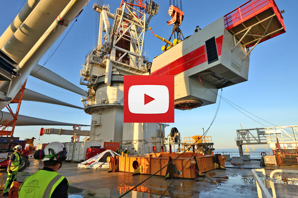 video wikinger offshore wind farm